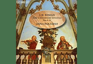 Anna Paradiso - 12 Sonaten für Tasteninstrumente: Sonaten 8-12  - (SACD)