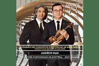 Andrew Wan, Kent Nagano, Orchestre Symphonique De Montreal - Sämtliche Violinkonzerte [CD]