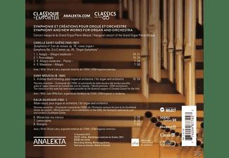 Olivier Latry, Orchestre Symphonique De Montreal, Jean-willy Kunz - Werke Für Orgel Und Orchester  - (CD)