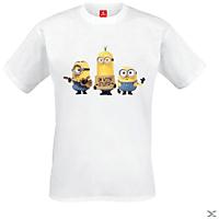 Minions - Stuart, Dave, Bob (Shirt M/White)