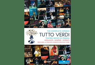 Orchestra Del Teatro Regio Di Parma, Coro Del Teatro Regio Di Parma, VARIOUS - The Complete Operas: Tutto Verdi  - (DVD)