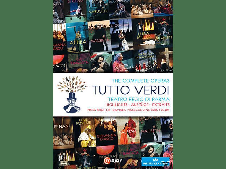 Orchestra Del Teatro Regio Di Parma, Coro Del Teatro Regio Di Parma, VARIOUS - The Complete Operas: Tutto Verdi [DVD]