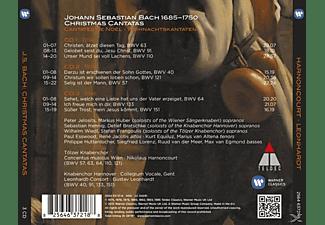 Paul Esswood, Rene Jacobs, Marius van Altena, Kurt Equiluz, Knabenchor Hannover, Concentus Musicus Wien, Leonhardt Consort - Weihnachtskantatenben  - (CD)