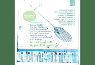 KLEIBER,C./CELIBIDACHE,S./BÖHM,KARL/NORRINGTON - Berühmte Dirigenten in Probe & Konzert  - (Blu-ray)