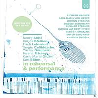 KLEIBER,C./CELIBIDACHE,S./BÖHM,KARL/NORRINGTON - Berühmte Dirigenten in Probe & Konzert [Blu-ray]