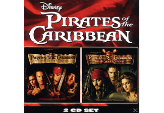 Blake Ost & Neely - Pirates Of The Caribbean 1 + 2 (Ost) - (CD)