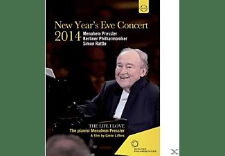 Menahem Pressler, Berliner Philharmoniker - Bp/Pressler, Menahem/Rattle, Similvesterkonzert 2014  - (DVD)
