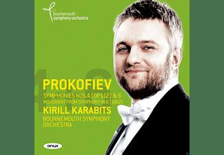 Kirill Karabits, Bournemouth Symphony Orchestra - Sinfonie 6 Op.111/Sinfonie 4 Op.112/+  - (CD)