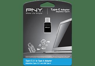 PNY A-TC-UF-K01-EF TYP C ADAPTER, Typ-C-3.1 auf Typ-A Adapter