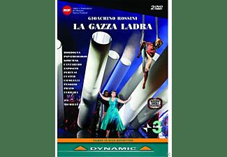 VARIOUS, Orchestra Haydn Di Bolzano E Trento, Prague Chamber Choir - LA GAZZA LADRA  - (DVD)