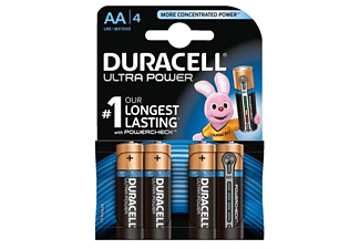 DURACELL Ultra Power AA 4-pack