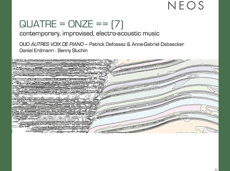 Defossez Patrick, Anne-Gabriel  Debaecker, Daniel Erdmann, Benny Sluchin - Improvisierte Elektoakustische Musik [CD]