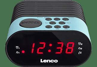 LENCO CR-07 Uhrenradio, PLL FM, Blau