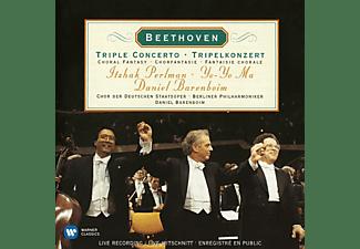 Itzhak Perlman, Yo-Yo Ma, Daniel Barenboim, VARIOUS - Pripelkonzert/Chorfantasie  - (CD)