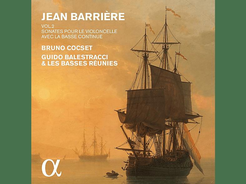 Guido Balestracci, Les Basses Reunies - Cellosonaten (Vol. 2) [CD]