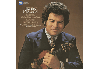 Itzhak Perlman, Royal Philharmonic Orchestra, VARIOUS, Lawrence Foster - Violinkonzert 1/Carmen-Fantasie  - (CD)
