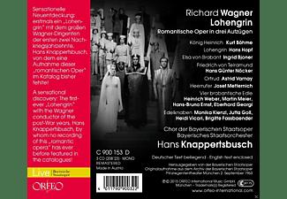 VARIOUS, Chor Der Bayerischen Staatsoper, Bayerisches Staatsorchester - Wagner: Lohengrin  - (CD)
