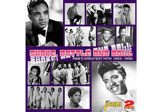 VARIOUS - Shake Rattle & Roll  - (CD)