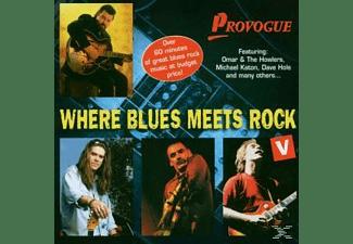 VARIOUS - Where Blues Meets Rock Vol.5  - (CD)