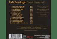 Rick Derringer - Live At Cheney Hall [CD]