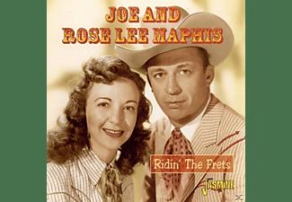 Joe & Rose Lee Maphis - RIDIN'THE FRETS  - (CD)