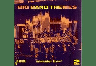VARIOUS - BIG BAND THEMES - REMEMBER THEM?  - (CD)