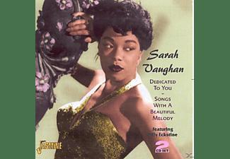 Sarah Vaughan - DEDICATED TO YOU  - (CD)