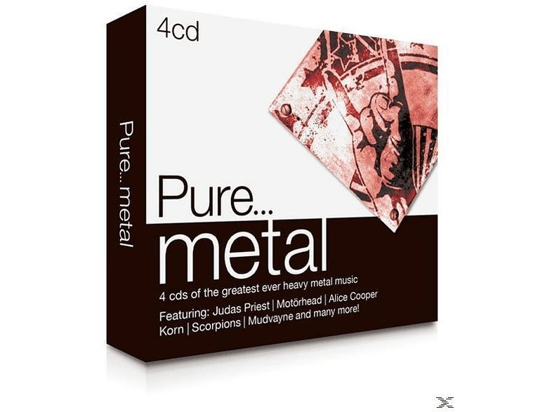 VARIOUS - Pure...Metal [CD]