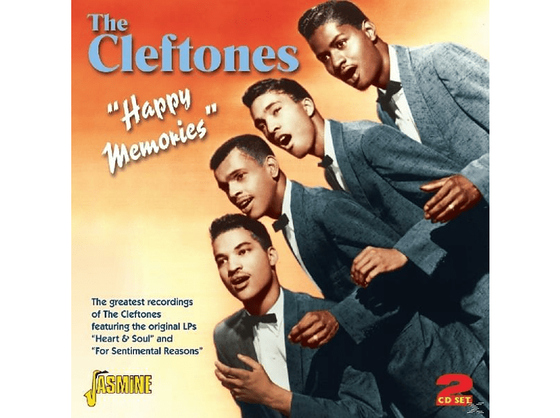 The Cleftones - Happy Memories [CD]