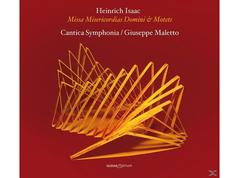 Cantica Symphonia - Missa Misericordias Domini & Motetten [CD]