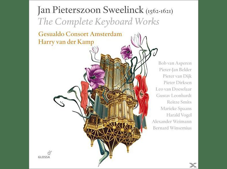 VARIOUS - Die Orgel- und Cembalowerke [CD]