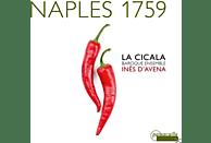 La Cicala, Ines D'avena - Naples 1759- Musik für Blockflöte [CD]