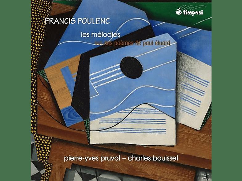 Paul Eluard, Pierre-yves Pruvot, Charles Bouisset - Lieder Nach Gedichten Von Paul Eluard [CD]