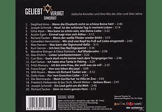 Schmidt,Joseph/Tauber,Richard - Geliebt Verjagt Ermordet  - (CD)