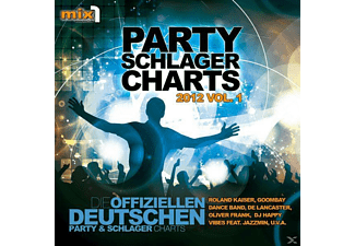 VARIOUS - Party Schlager Charts Vol.1  - (CD)