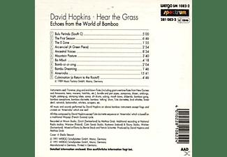 Hopkins David - Hear The Grass  - (CD)