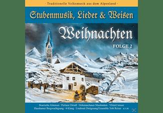 VARIOUS - Weihnachten-Stubenmusik, Lieder & Weisen 2  - (CD)