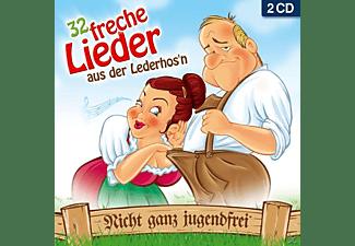 Diverse Interpreten - 32 freche Lieder aus der Lederhos'n  - (CD)