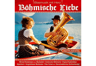 VARIOUS - Böhmische Liebe,Blasmusik mit Herz  - (CD)