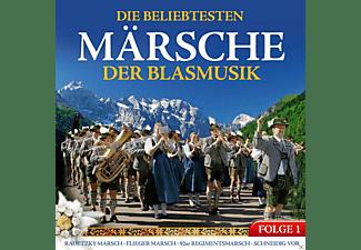 VARIOUS - Die beliebtesten Märsche der Blasmusik  - (CD)