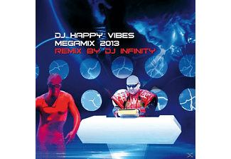 Dj Happy Vibes - Dj Happy Vibes Megamix 2013 Remix By Dj Infinity  - (CD)