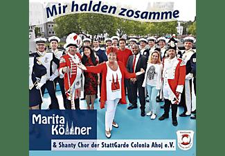 Marita Köllner - Mir Halden Zosamme  - (Maxi Single CD)