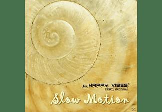 DJ Happy Vibes feat. Jazzmin - Slow Motion  - (Maxi Single CD Extra/Enhanced)