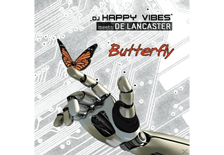 Dj Happy Vibes Meets The Lancaster - Butterfly  - (Maxi Single CD)