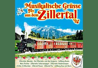 VARIOUS - Musikalische Grüße aus dem Zillertal  - (CD)