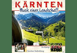Kärntner Harfenklang, Da-8gsong - Kärnten-Musik Einer Landschaft  - (CD)
