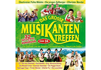 VARIOUS - Das grosse Musikantentreffen,Folge 34  - (CD)