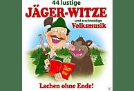 Various - 44 Lustige Jäger-Witze Und A Schneidige Volksmusik [CD]