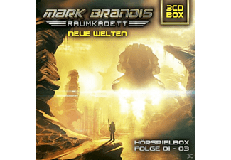 Mark Brandis-Raumkadett - 3-CD Hörspielbox - Folge 1-3  - (CD)