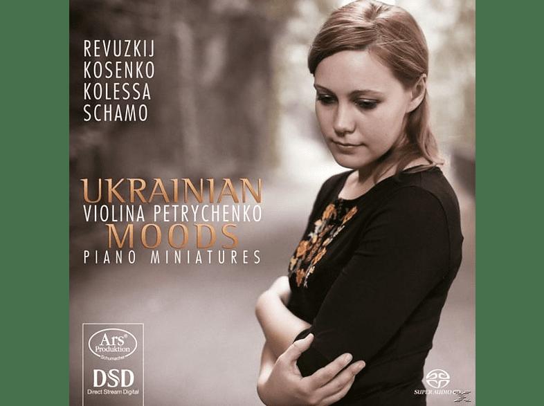 Violina Petrychenko, Revuzkij, Kosenko, Kolessa, Schamo - Ukrainian Moods-Piano Miniatures [SACD Hybrid]